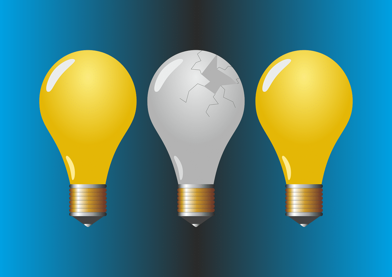 Failure - Broken Lightbulb