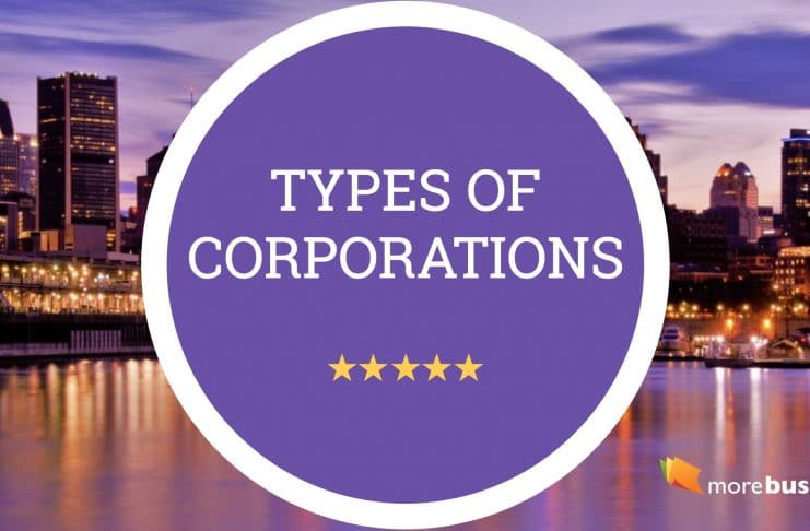 types of corporations - types of companies