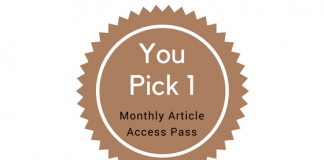 You Pick 1 - Monthly Article Access Pass