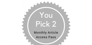 You Pick 2 - Monthly Article Access Pass