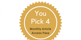 You Pick 14 - Monthly Article Access Pass