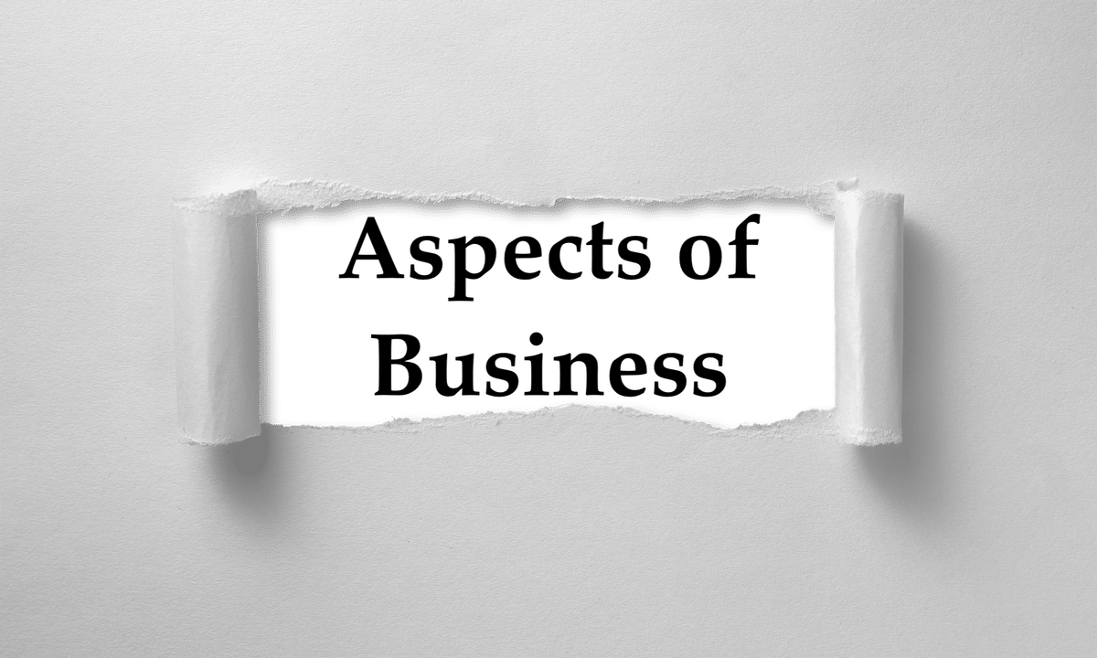 Starting Your Own Business: Seven Aspects of Business