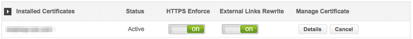 cpanel ssl enforce rewrite