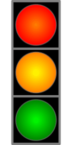 red yellow green light