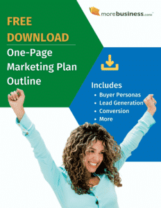One-Page Marketing Plan Outline and Checklist - Free Download