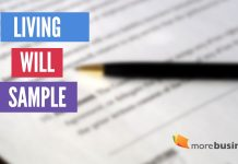 living will sample - example of a living will - blank will form