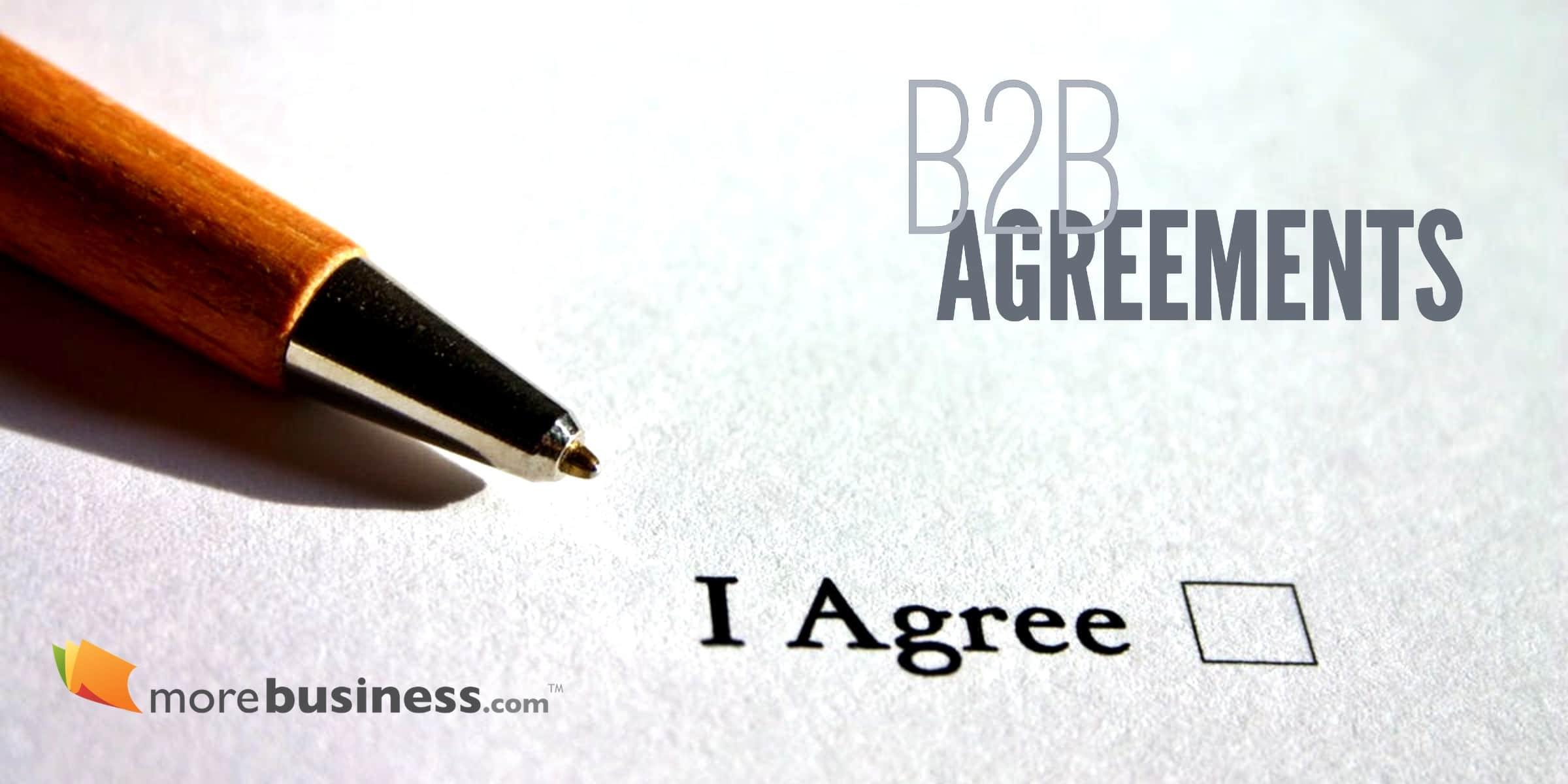 b2b agreements