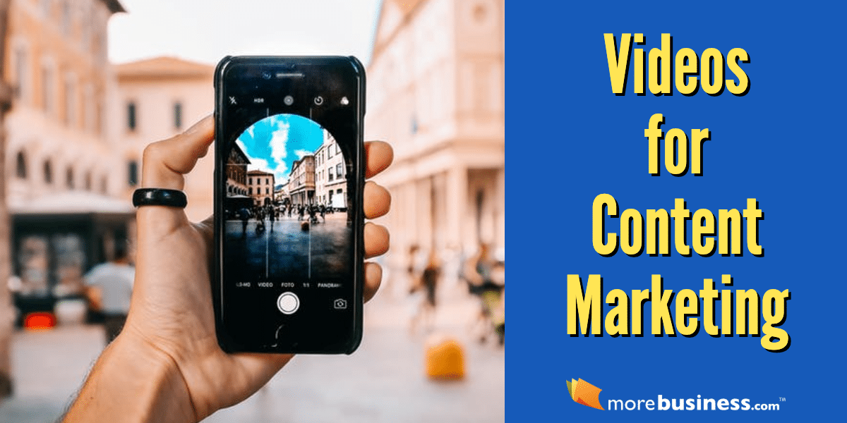 videos for content marketing