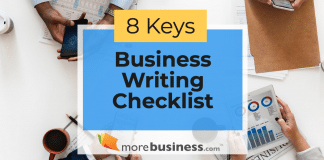 business writing checklist