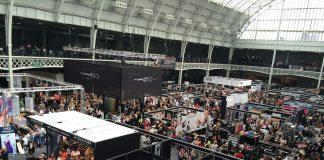 Trade show floor