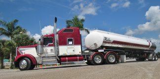 liquid transport trailer