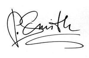 handwritten email signature