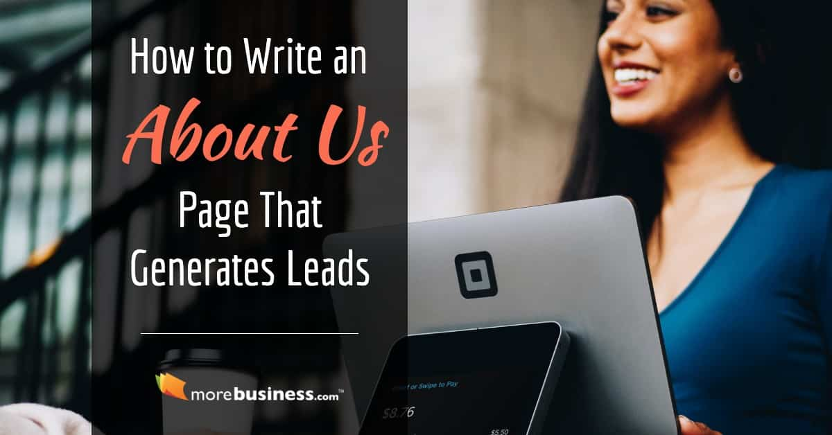 how to write about us page