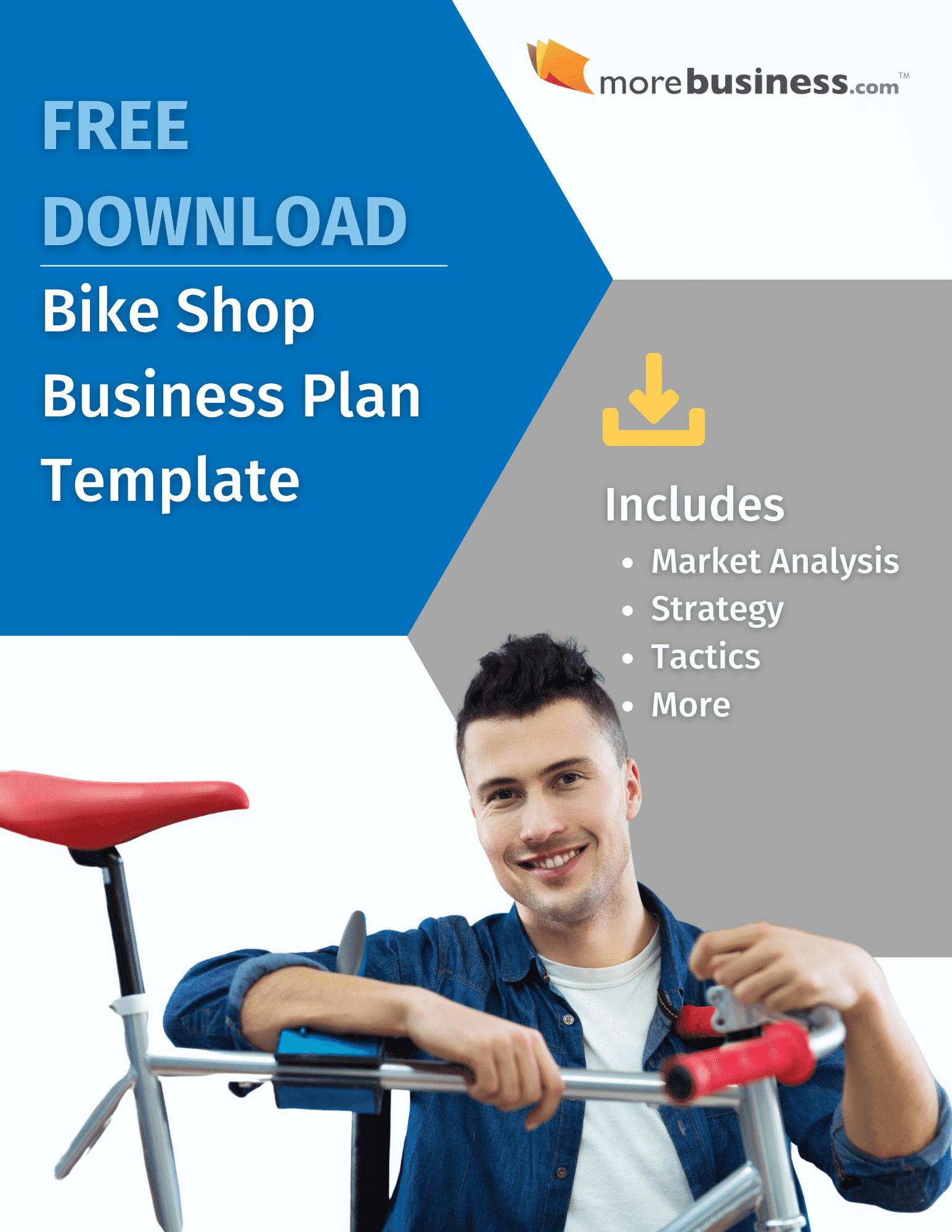 bike shop business plan - free download