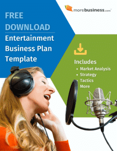 entertainment business plan example - free download