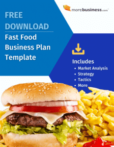 fast food business plan - free download