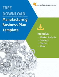 manufacturing business plan - free download