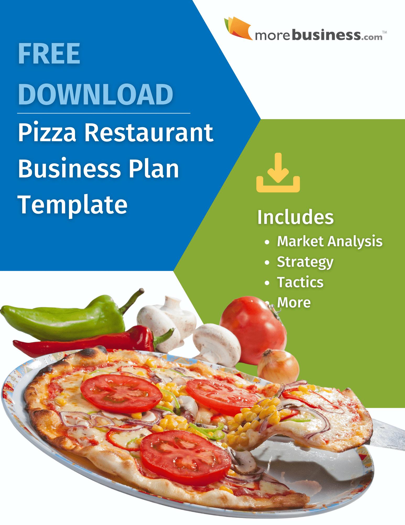 pizza restaurant business plan - free download