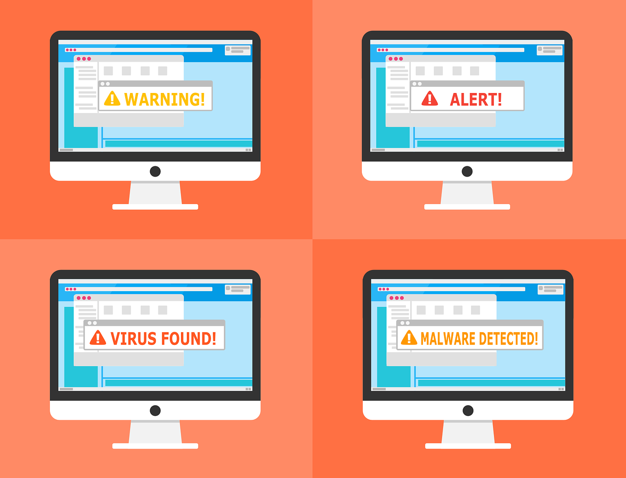 viruses, malware, adware and trojans explained