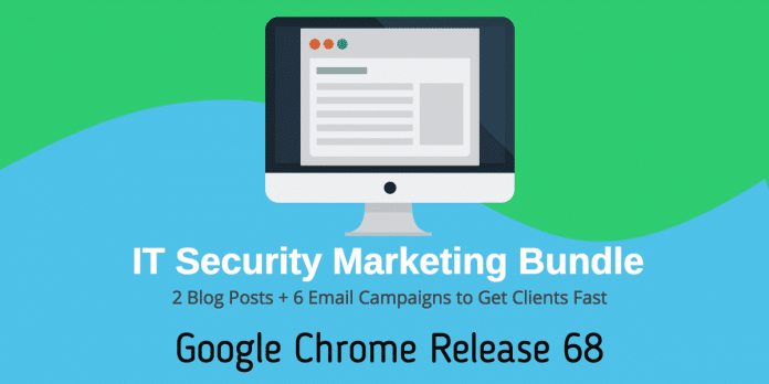 chrome 68 marketing bundle